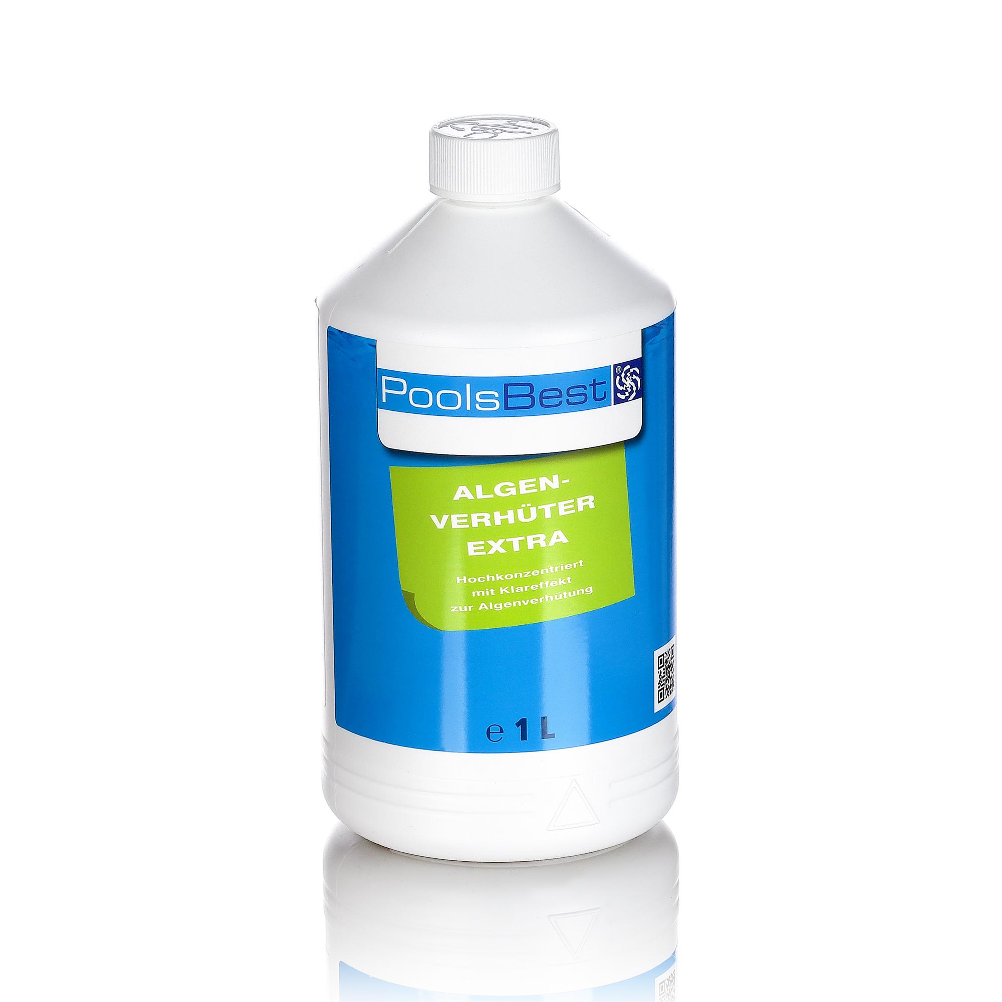 1l poolsbest pool chlor algenex algenmittel algizid algen ebay. Black Bedroom Furniture Sets. Home Design Ideas