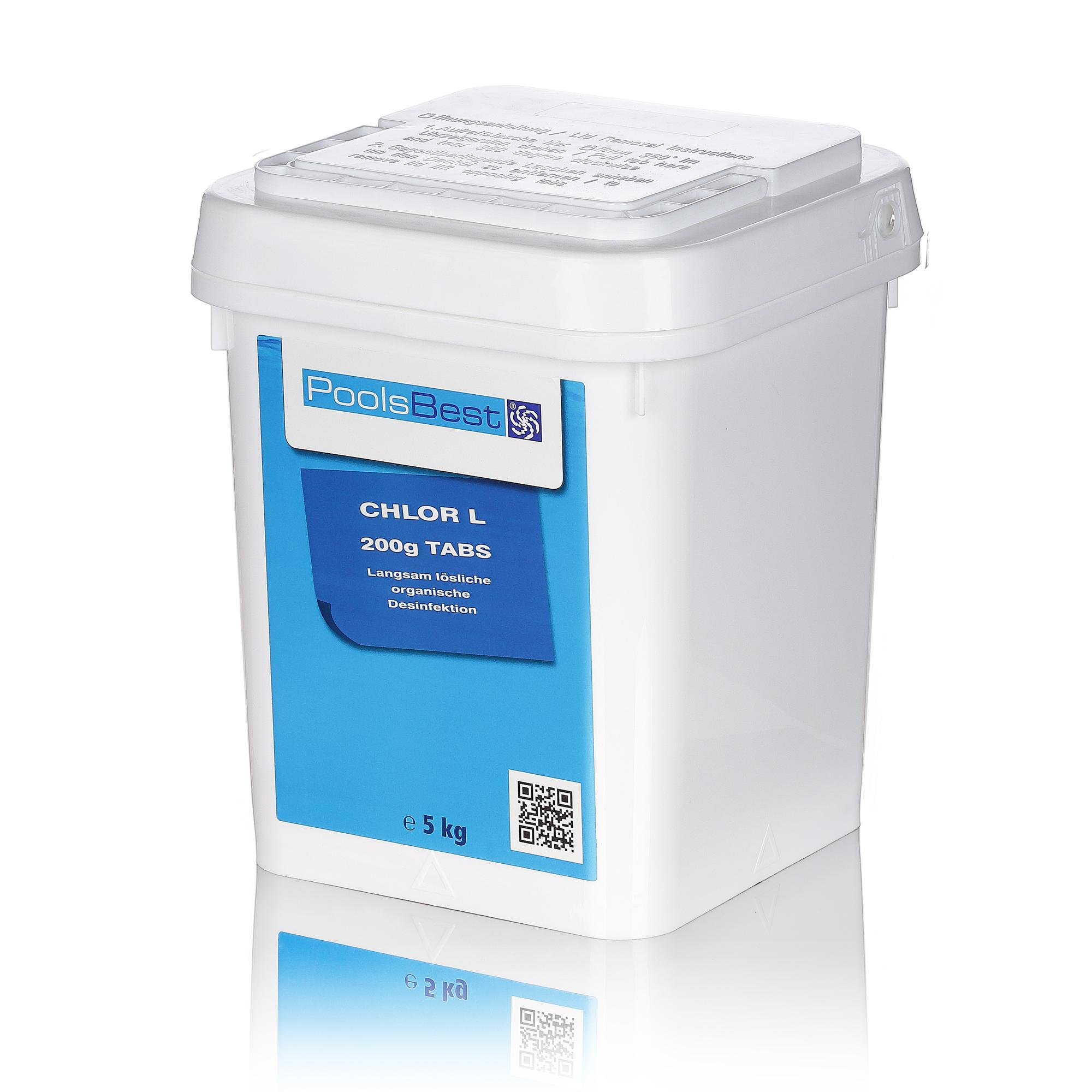 5 kg poolsbest langzeit chlor tabletten 200gr chlortabletten. Black Bedroom Furniture Sets. Home Design Ideas