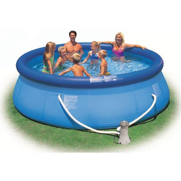easy set pool 366 x 76cm mit kartuschenfilteranlage. Black Bedroom Furniture Sets. Home Design Ideas