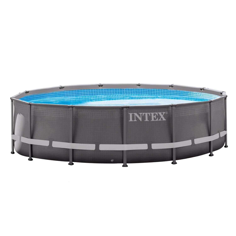 Frame-Pool-Set Serie Ultra Rondo Ø 427 x 107 cm mit ...