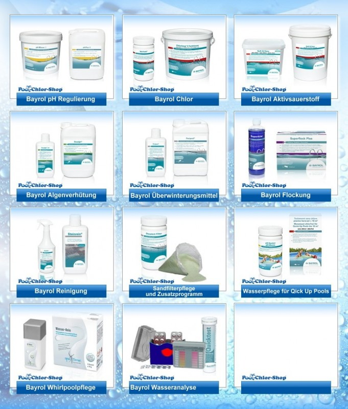 Bayrol Wasserpflege Online Kaufen Pool Chlor Shop