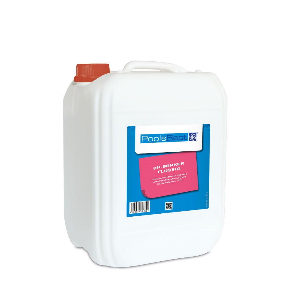pH-Senker flüssig 45%-ig online kaufen   Pool-Chlor-Shop