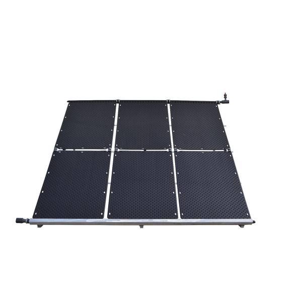 Aufständerung für 14 Solar-Absorber der Art. Nr. 1000