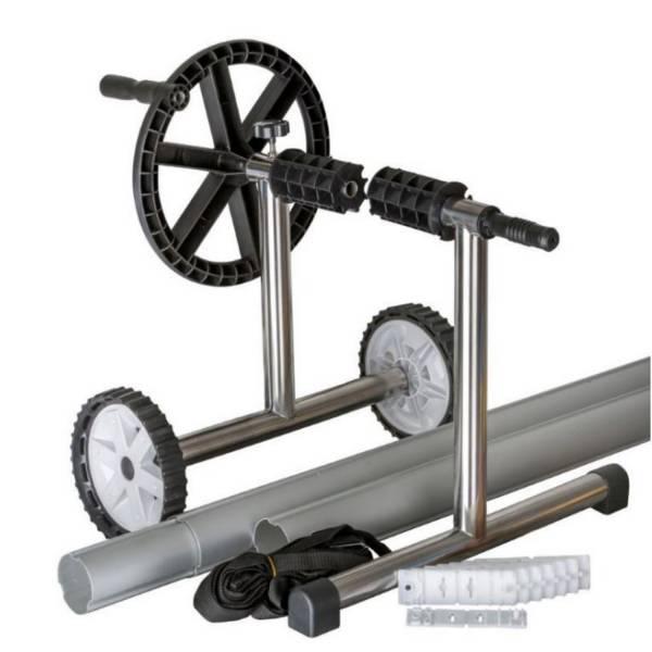 Aufrollvorrichtung Aluminium für Luftpolsterfolien bis 5,5m Breite