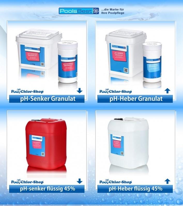 Schön pH-Regulierung online kaufen | Pool-Chlor-Shop QS73