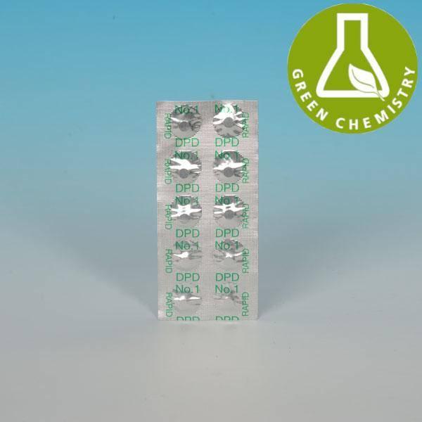 1 Streifen je 10 Tabletten Nachfüllpackung Chlor