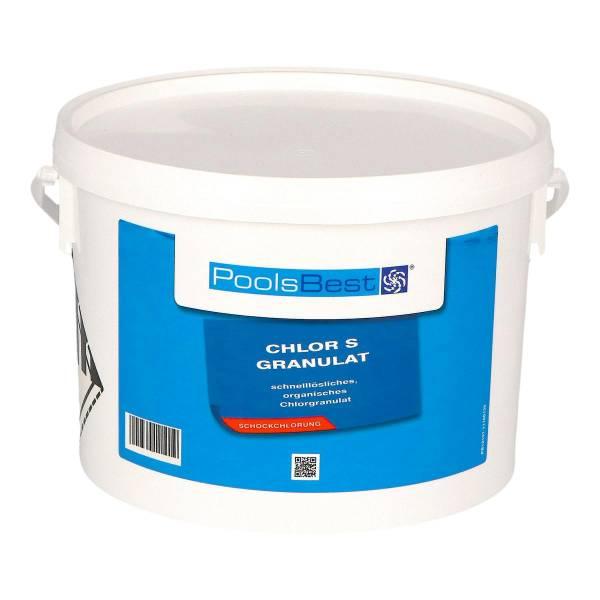 3 Kg - PoolsBest® Chlorgranulat S schnelllöslich 56% Aktivchlor