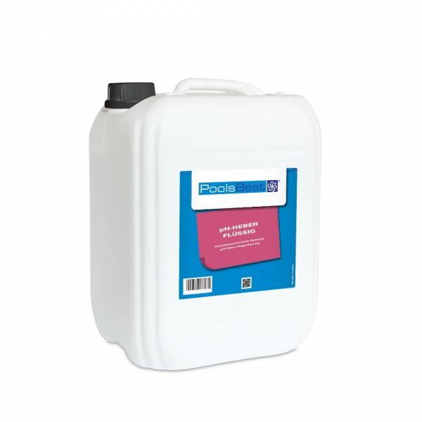 12 Kg - PoolsBest® pH-Heber flüssig 45%ig