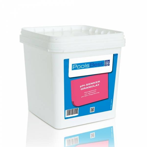 5 Kg - PoolsBest® pH-Senker Granulat