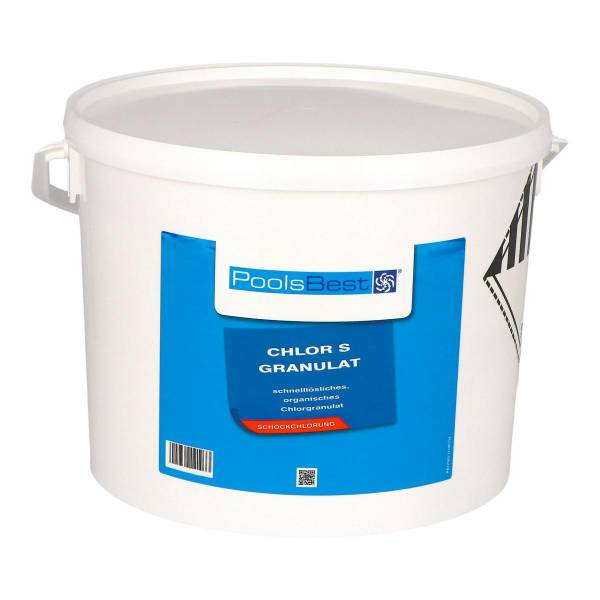 10 Kg - PoolsBest® Chlorgranulat S schnelllöslich 56% Aktivchlor