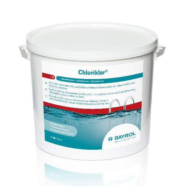 10 Kg Bayrol - Chloriklar 20g schnelll.