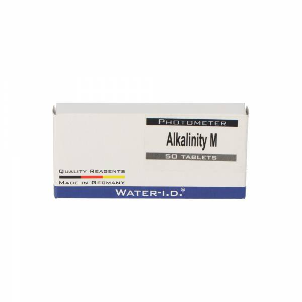 50 Tabletten Alka-M / Alkalinität für Poollab