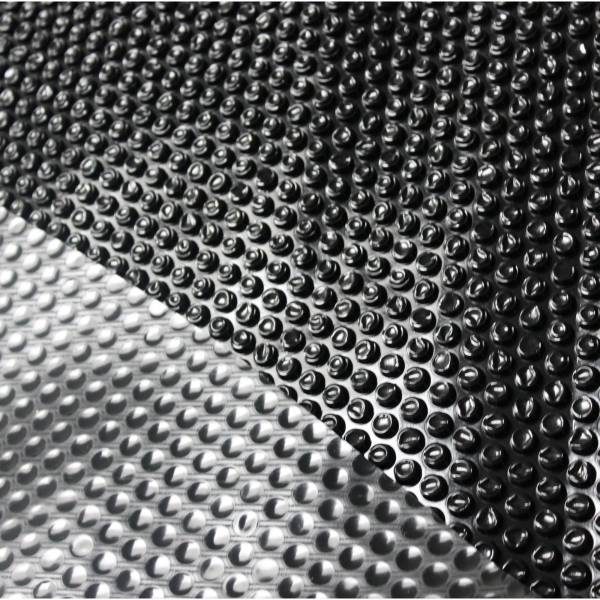 Solarfolie Duraol® schwarz 400my für Achtformbecken