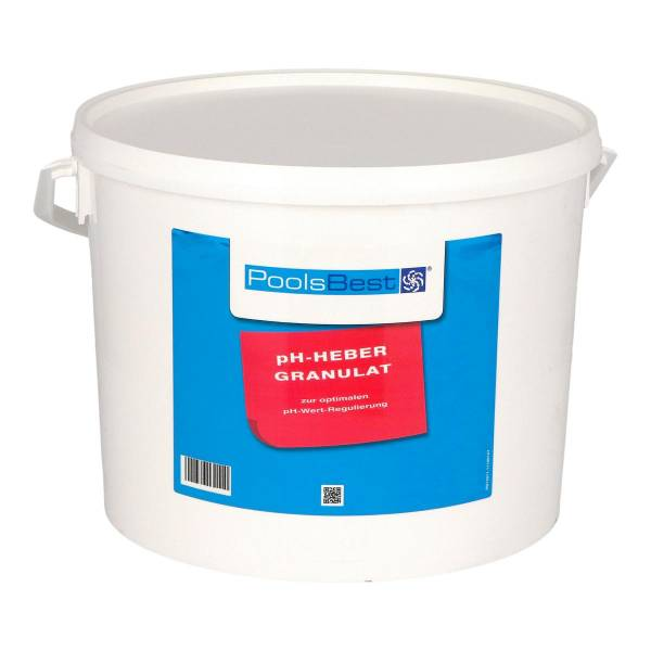 10 Kg - PoolsBest® pH-Heber Granulat