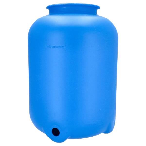 Filterbehälter Ø 400 mm in blau für Top Mount Ventil