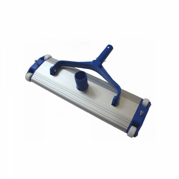 Bodensauger mit 4 Rädern aus Aluminium - 45cm