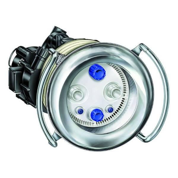 BADU JET Primavera Deluxe 3 kW weiße LED Fertigmontagesatz - 400V