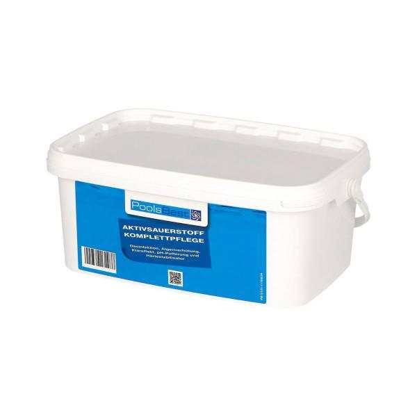 2,24 Kg PoolsBest® Aktivsauerstoff-Komplettpflege 8 Doppelbeutel