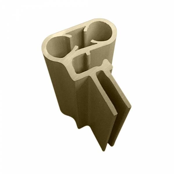 Kombi-Handlauf für Achtformbecken in Sand-Style