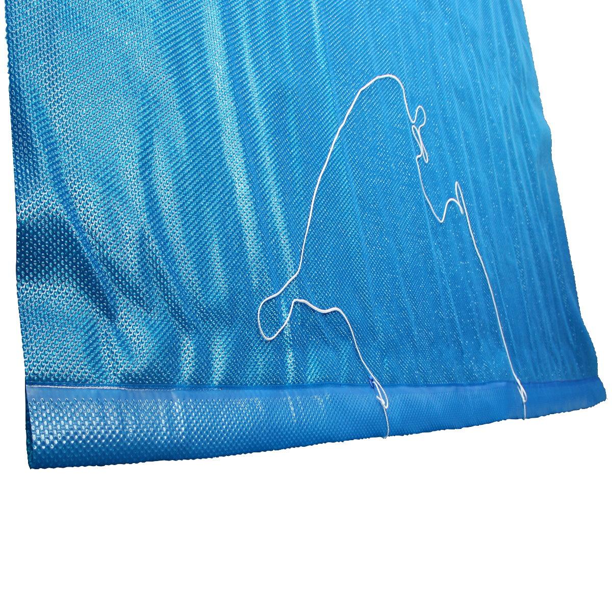 solarfolie blau 400my mit 80cm f r aufrollvorrichtung f r rechteckbecken pool chlor shop. Black Bedroom Furniture Sets. Home Design Ideas