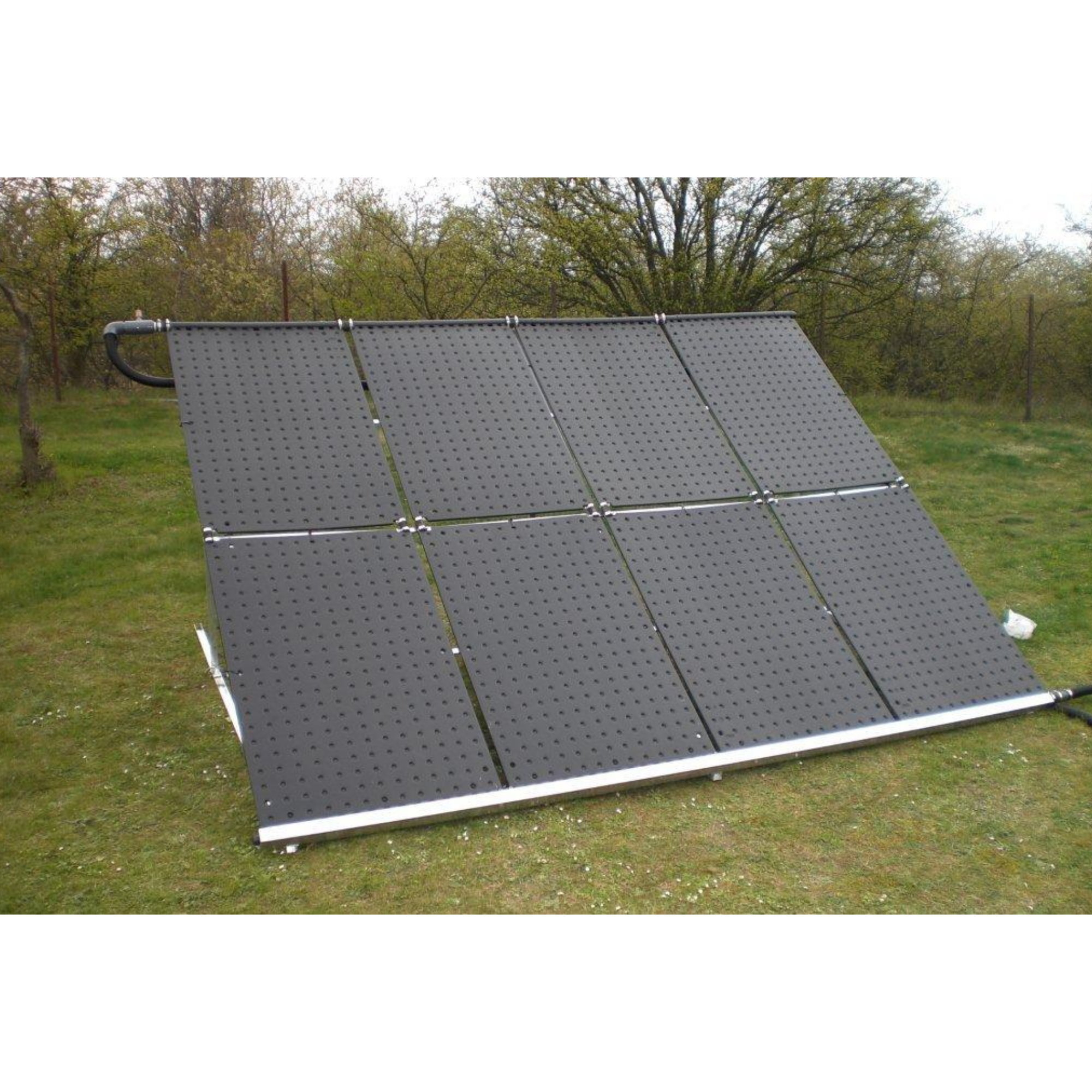 aufst nderung f r 6 solar absorber der art nr 1000 pool chlor shop. Black Bedroom Furniture Sets. Home Design Ideas