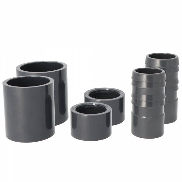 Anschluss-Set für PVC-Verrohrung d 50mm