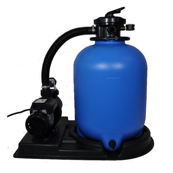 sandfilteranlage eco mit sps 100 1 pumpe 8m h bis 48m pool chlor shop. Black Bedroom Furniture Sets. Home Design Ideas