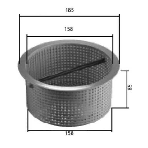 MTH Vorfilterkorb für Einhängefilter IS 5,6, 12 & SK 2