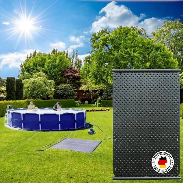 OKU Solar-Komplettset für Aufstellbecken bis 10m²