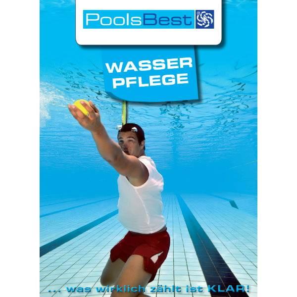 Wasserpflegebroschüre von PoolsBest für Anfänger