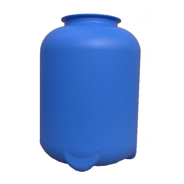 Filterbehälter Ø 320 mm in blau für Top Mount Ventil