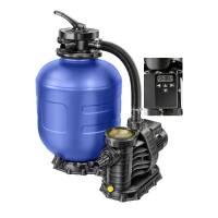 Sandfilteranlage mit Timer Ø 400mm mit Aqua TechniX Pumpe 7,5 m³/h