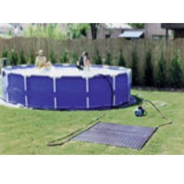 oku solar komplettset f r aufstellbecken bis 15m pool chlor shop. Black Bedroom Furniture Sets. Home Design Ideas