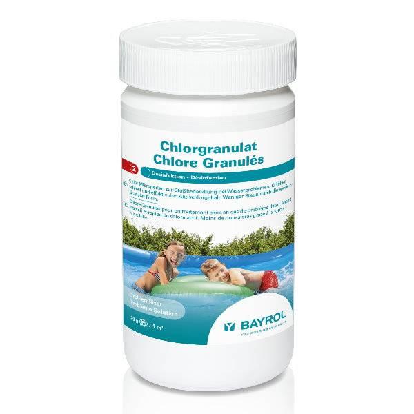 1 Kg - BAYROL Chlorgranulat für Minipools