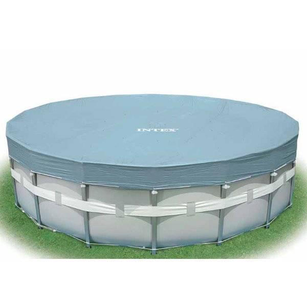 deluxe abdeckplane f r frame pool 549 cm pool chlor shop. Black Bedroom Furniture Sets. Home Design Ideas