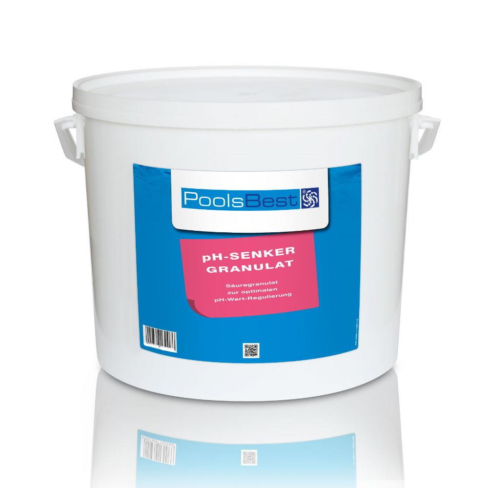 Großartig 10 Kg - PoolsBest® pH-Senker Granulat | Pool-Chlor-Shop XO35