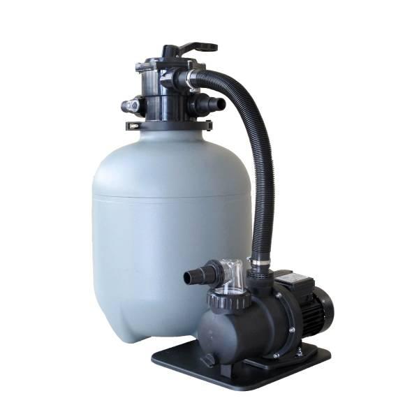 Sandfilteranlage Trinidad mit SPS-75-1 Pumpe 6m³/h - 400mm