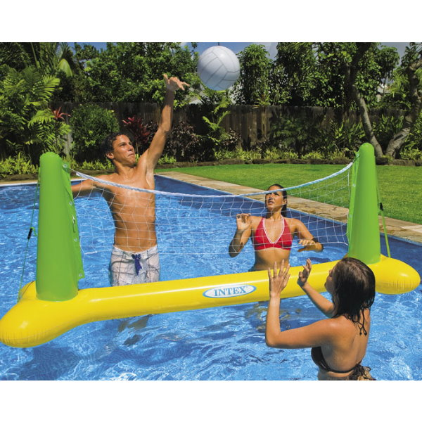 pool volleyball game pool chlor shop. Black Bedroom Furniture Sets. Home Design Ideas