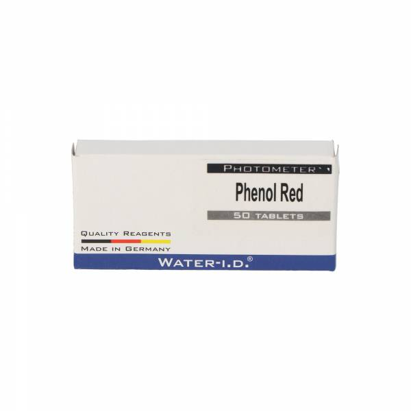 50 Tabletten Phenol Red / pH-Wert für Poollab