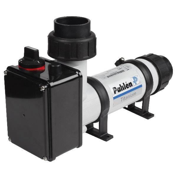 Pahlen Elektroheizer aus Kunststoff / Incoloy 12kW - nicht digital