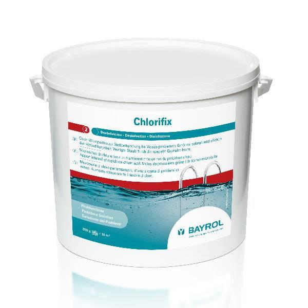 10 Kg BAYROL - Chlorifix schnelll.