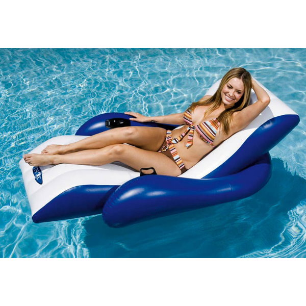 floating recliner lounge pool chlor shop. Black Bedroom Furniture Sets. Home Design Ideas
