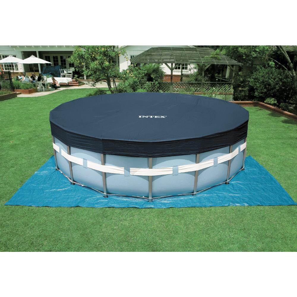 frame pool set prism rondo 457 x 107cm mit. Black Bedroom Furniture Sets. Home Design Ideas