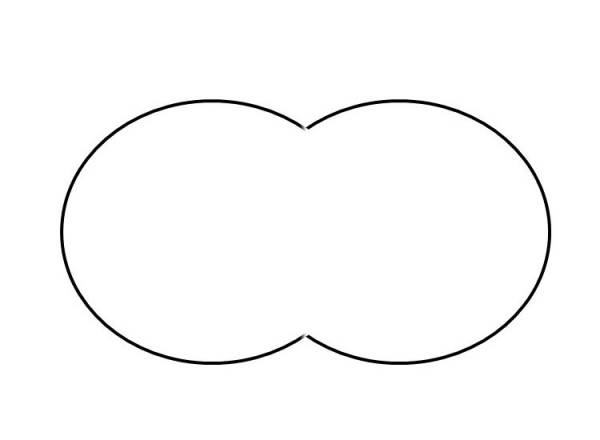 Poolfolie Achtform Weiß