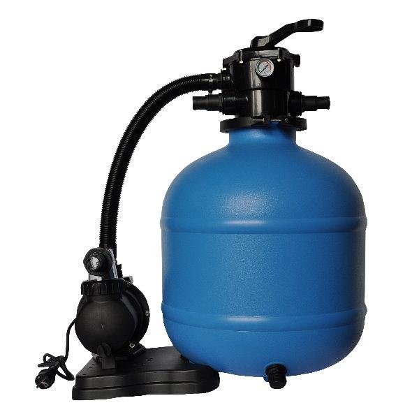 sandfilteranlage trinidad mit sps 100 1 pumpe 8m h 470mm pool chlor shop. Black Bedroom Furniture Sets. Home Design Ideas