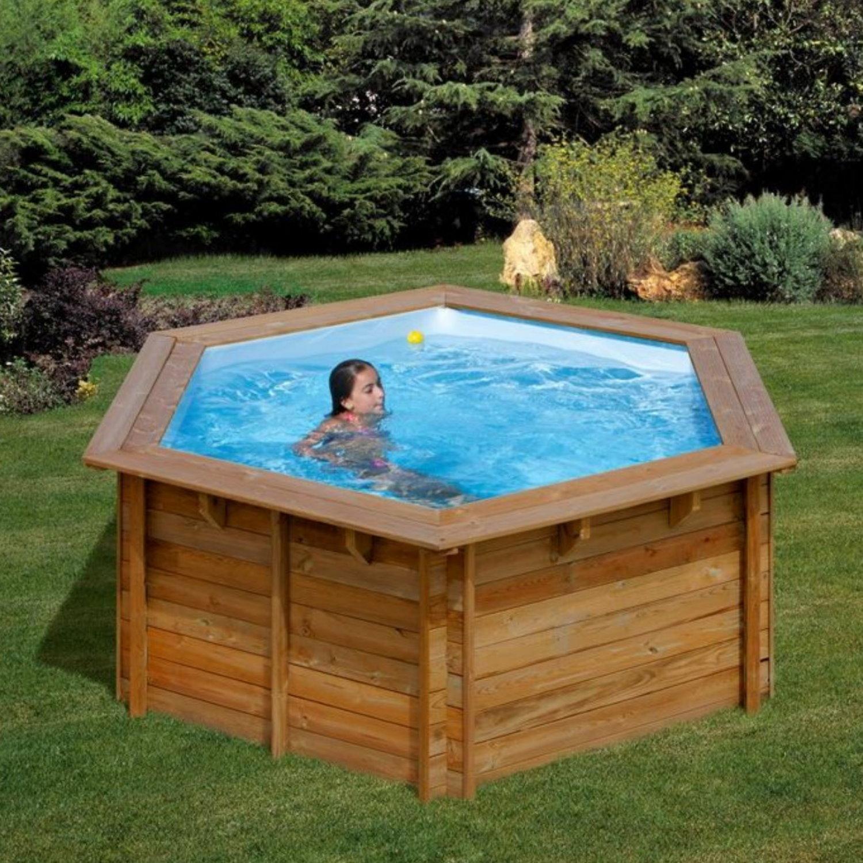 Pool komplettset aus echtholz lili 311 x 119 cm pool chlor shop - Pool chlor shop ...
