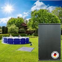 OKU Solar-Komplettset für Aufstellbecken bis 15m²