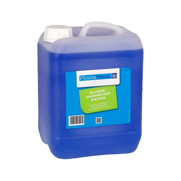 5L - PoolsBest® Algenverhüter extra - hochkonzentriert & schaumfrei