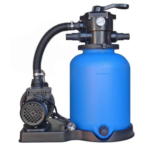 Sandfilteranlage ECO mit SPS-100-1 Pumpe 8m³/h bis 48m³