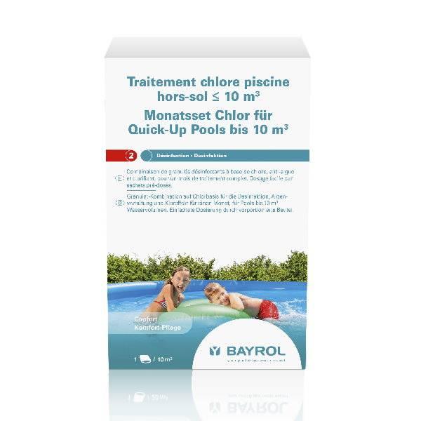 0,6 Kg Bayrol - Monats-Set Quick-Up Pool bis 10 m³